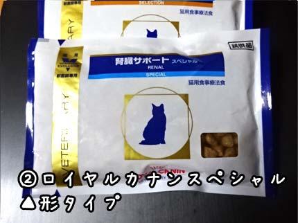 猫の腎臓病の餌2